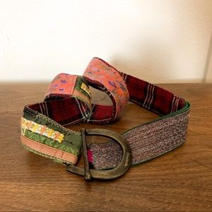 Free people | Boho colorful patchwork belt